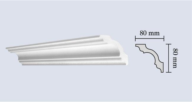 Cornici per soffitti in polistirolo cornici in poliuretano for Cornici decorative polistirolo