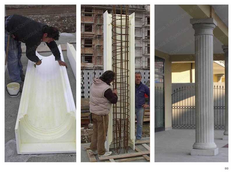 Disarmante per casseforme in polistirolo distaccante per - Decorazioni pilastri interni ...