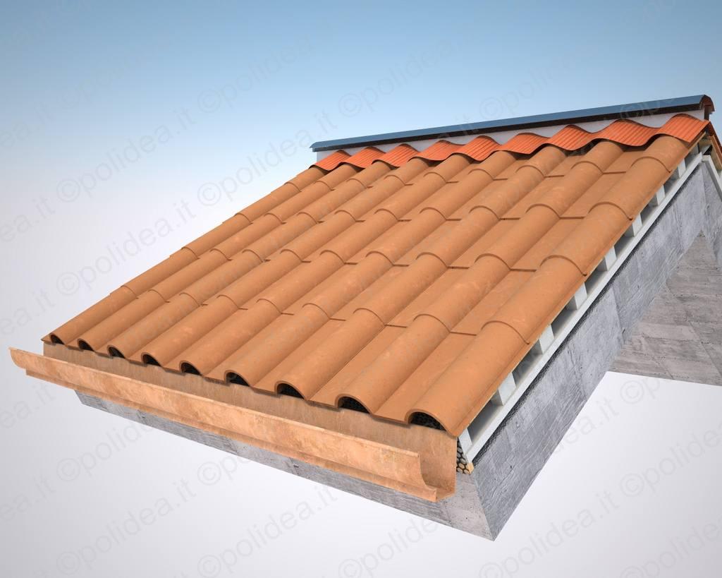 Pannello per tetto ventilato in polistirolo espanso for Polistirolo finto legno