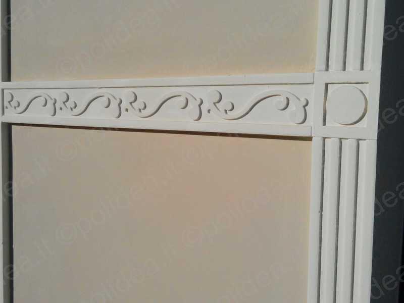 Cornici in polistirolo per esterni decorazioni per facciate esterne cornici resinate - Cornici per finestre esterne prezzi ...