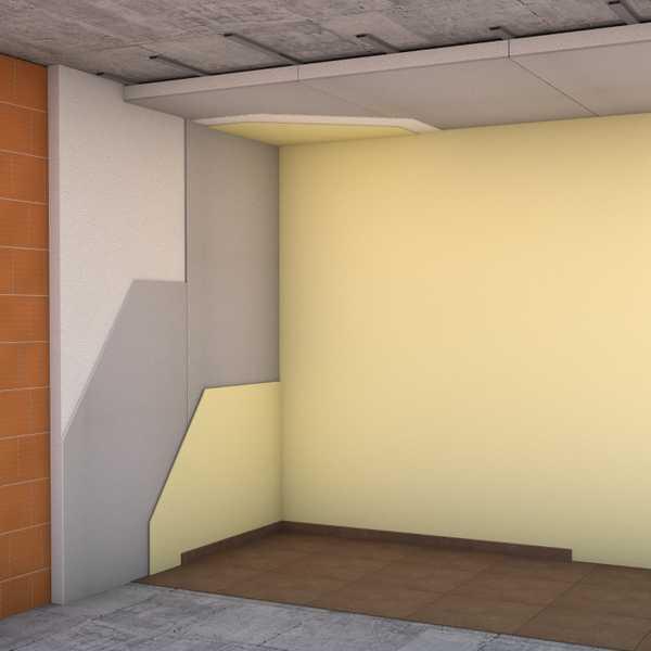 Pannelli in polistirolo per cappotto termico interno - Isolamento interno ...