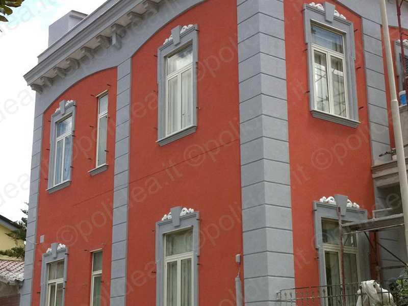 Cornici polistirolo resinate per esterni profili decorativi per facciate - Cornici finestre in polistirolo ...