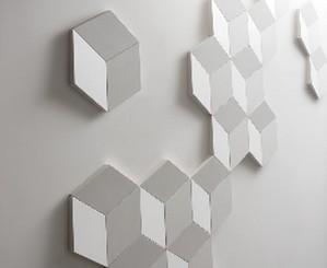 Elementi decorativi per pareti 3d