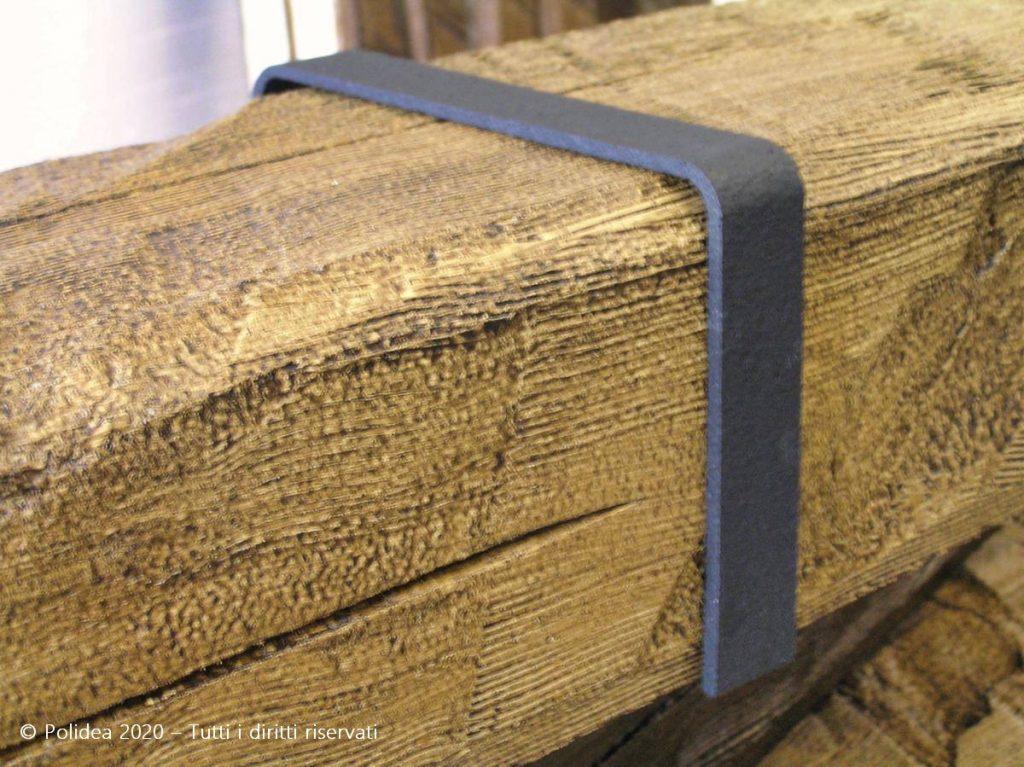 Travi finto legno in polistirolo