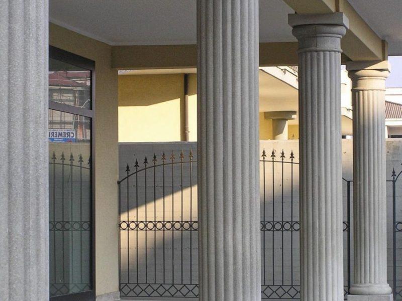 Casseforme per colonne circolari